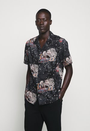 CHEMISE JAPANESE PRINT - Hemd - black