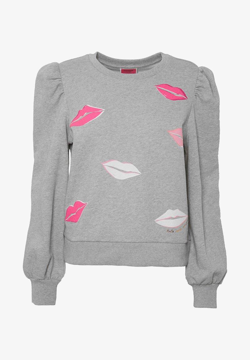 kate spade new york lips - sweatshirt - gris heather/grau