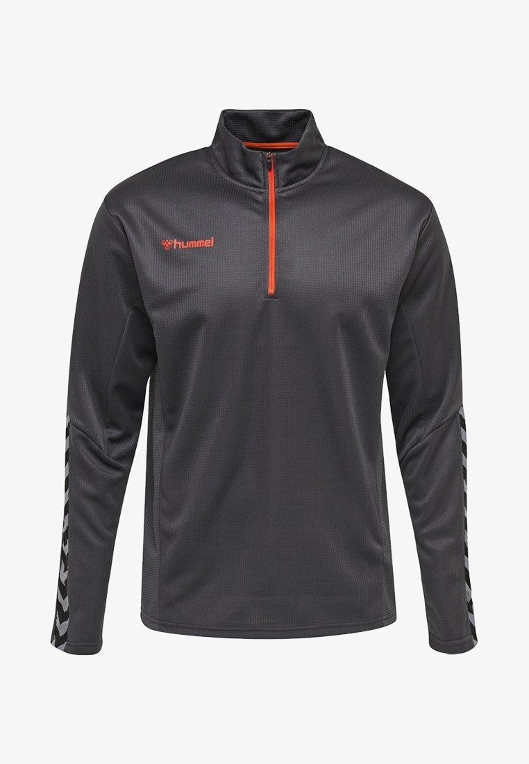 Hummel - HMLAUTHENTIC - Sweatshirt - asphalt