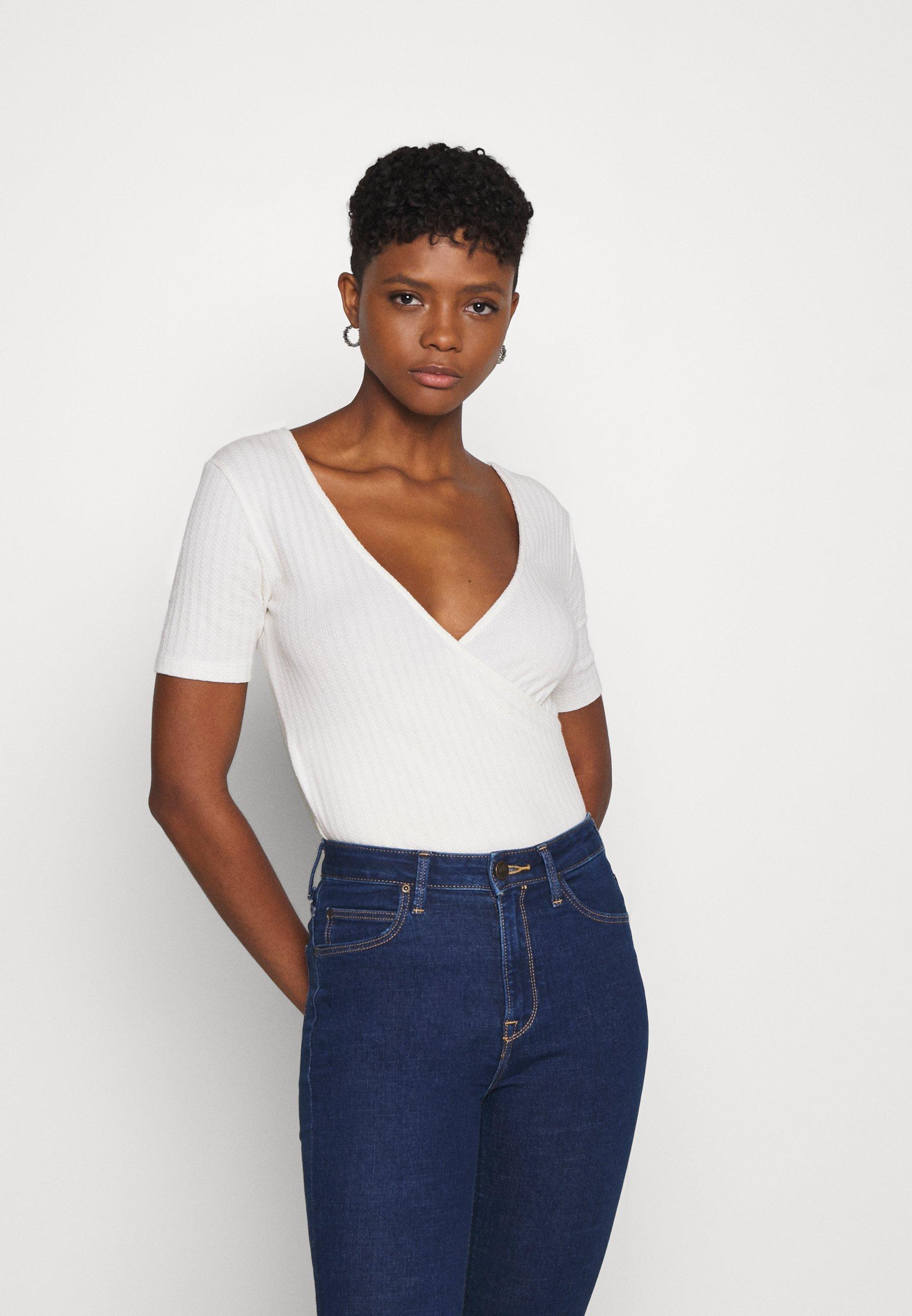 Damen WRAP TEE - T-Shirt print