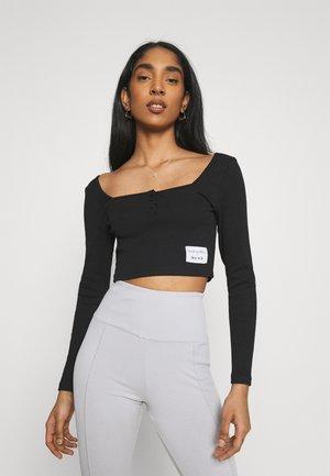 TOP ZIA - Long sleeved top - black