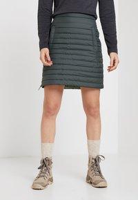 Jack Wolfskin - ICEGUARD SKIRT - Sports skirt - greenish grey - 0