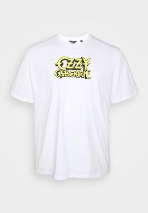 ONSOZZY LIFE TEE PLUS - Print T-shirt - white