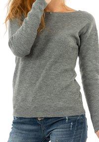 Morgan - MGUIA - Sweatshirt - gris - 3