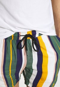 Redefined Rebel - RICK - Shortsit - duck green stripe - 4