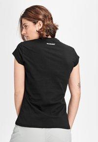 Mammut - PEAKS - T-shirt con stampa - black prt ciao - 1