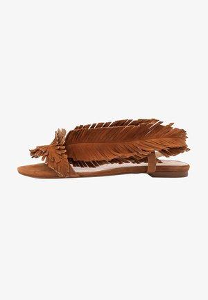 POLY - Sandalen - brązowy