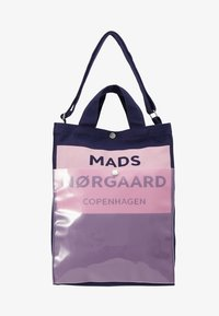 Mads Nørgaard - TÖTE BAG - Tote bag - dark navy/soft rose - 5
