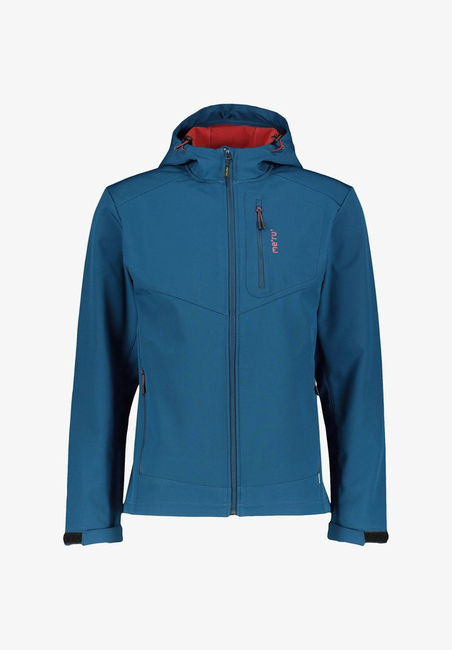 BREST - Soft shell jacket - blau