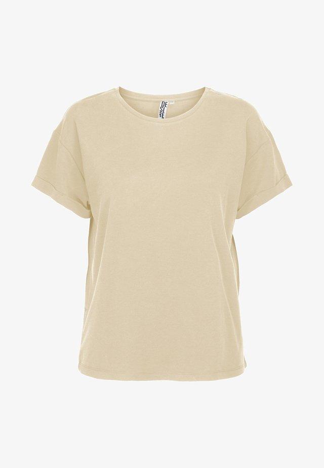 BINI - T-shirts basic - sandshell