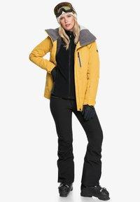 Roxy - MIT REISSVERSCHLUSS  - Fleece jacket - true black - 1