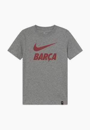 FC BARCELONA TEE GROUND - Club wear - grey heather