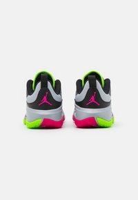 Jordan - JORDAN ONE TAKE 3 UNISEX - Basketball shoes - wolf grey/pink prime/electric green - 2