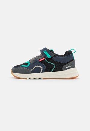 KNAKK - Sneakers laag - noir/gris/vert