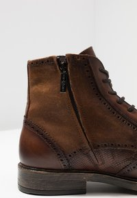 Giorgio 1958 - Lace-up ankle boots - brown - 5