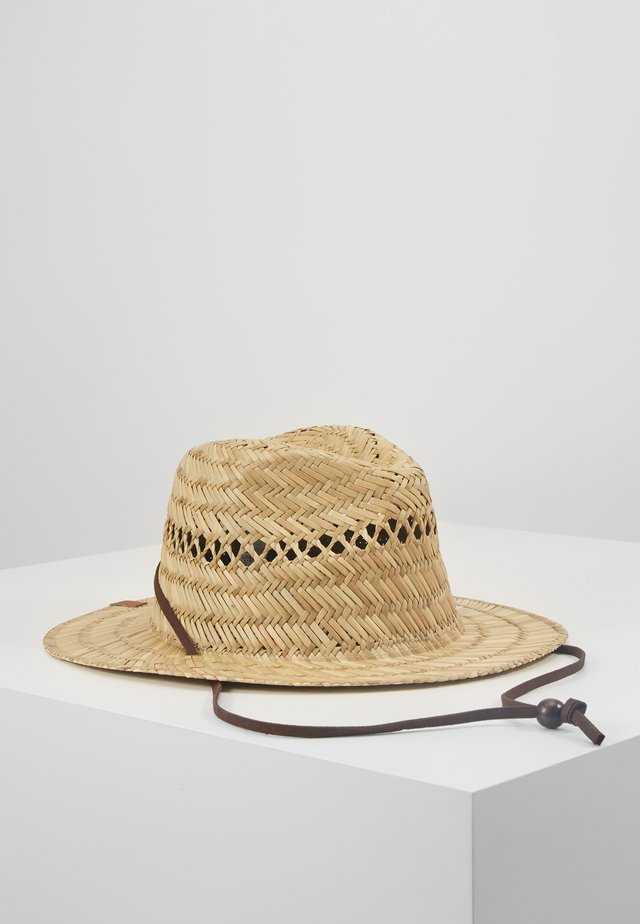 JETTYSIDE HATS - Hat - natural