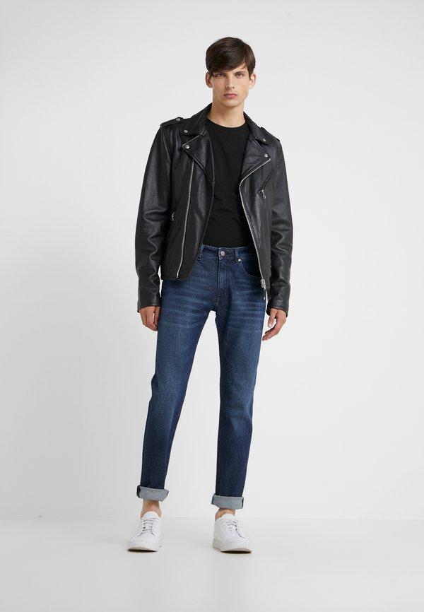 KARL LAGERFELD CREW NECK 2 PACK - T-shirt basic - black/czarny Odzież Męska TQVS