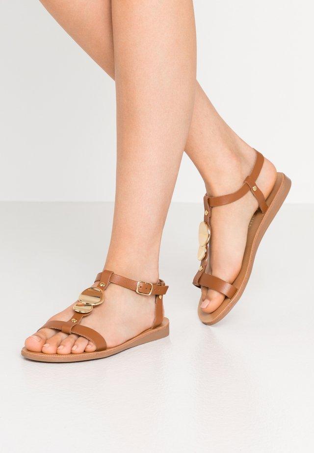 PRASCA - Sandals - camel