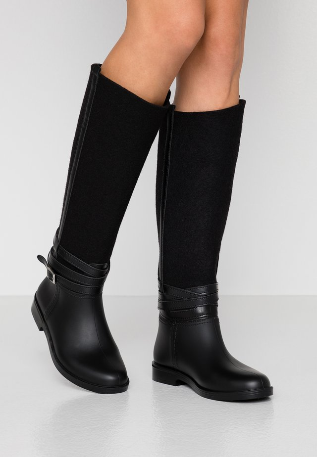 CAMILA - Wellies - black
