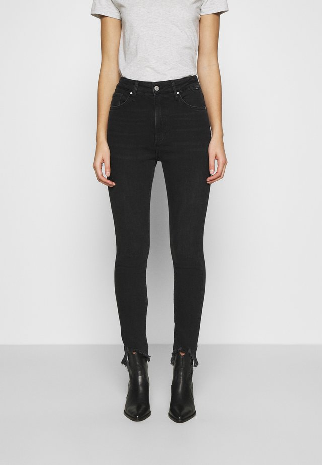 SCARLETT - Jeans Skinny Fit - smoke brushed