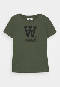 Wood Wood - OLA KIDS - T-shirts print - army green - 0