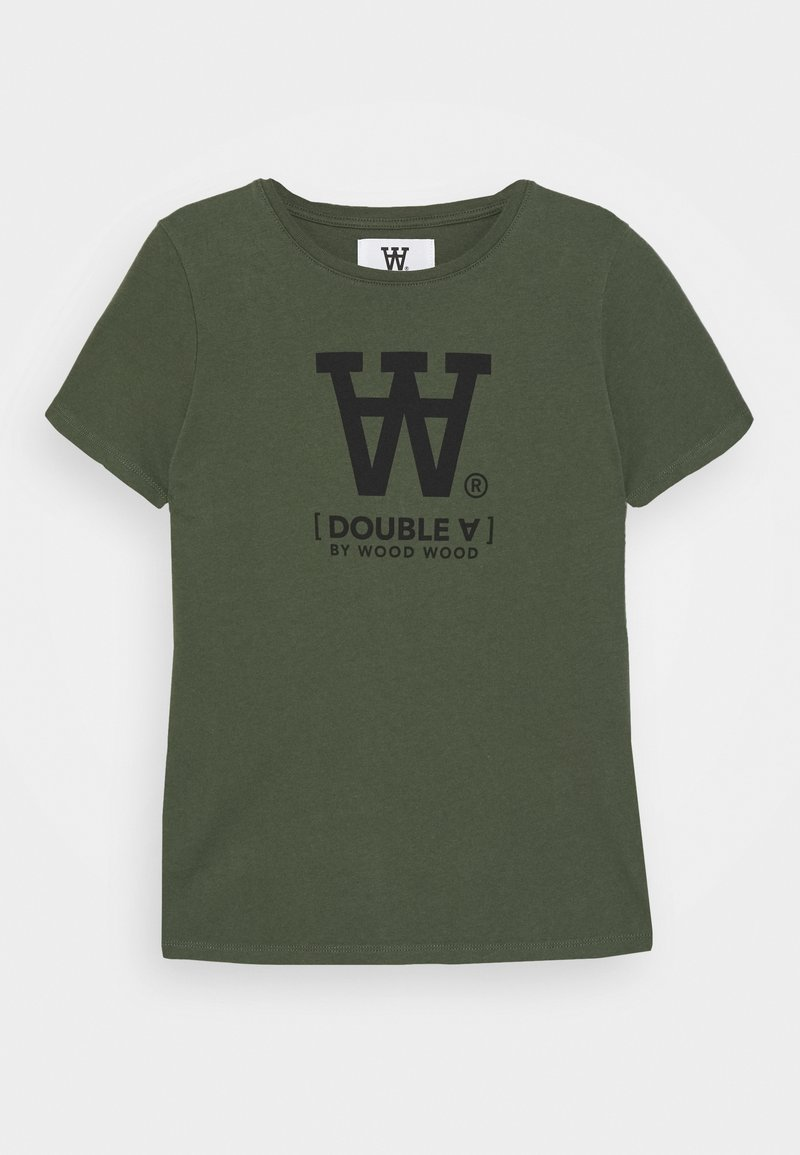 Wood Wood - OLA KIDS - T-shirts print - army green