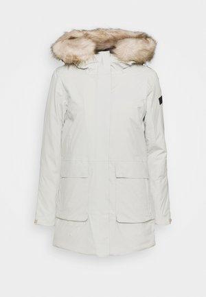 WOMAN FIX HOOD - Zimní kabát - gesso