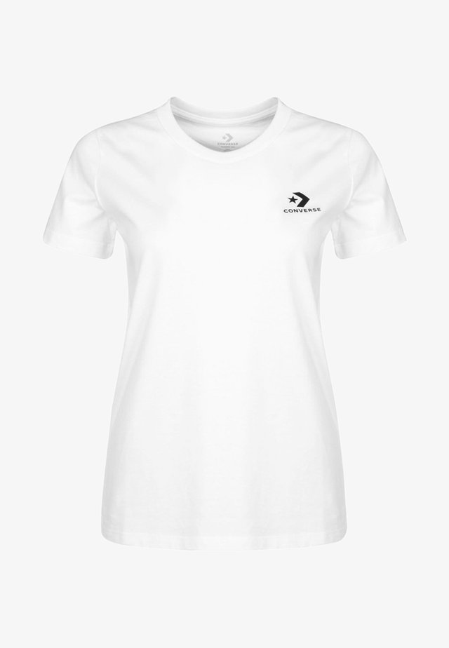 STACKED - T-shirt basique - white