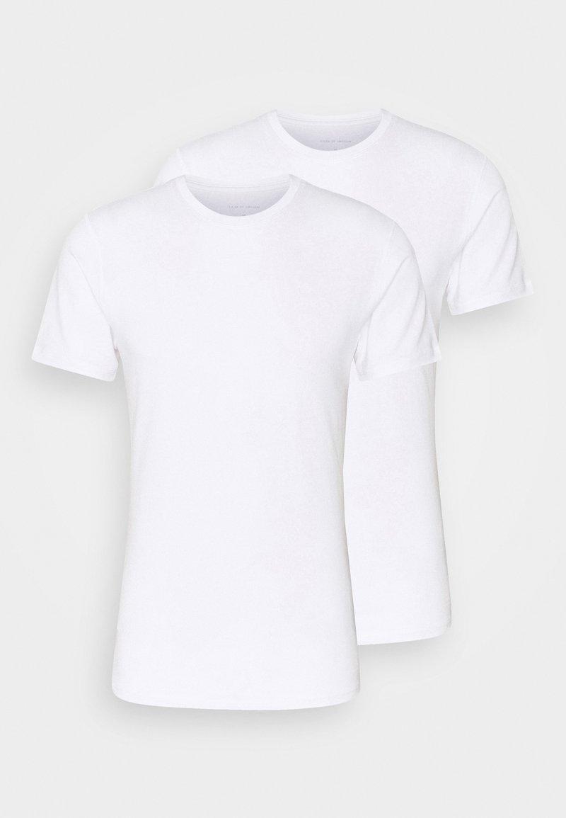 Tiger of Sweden - HEIMDALL 2 PACK - Basic T-shirt - white