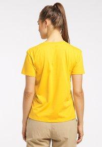 Haglöfs - Print T-shirt - pumpkin yellow - 1