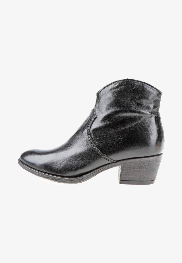 STIEFELETTEN - Ankle boots - nero