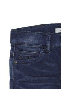 Name it - NKMTHEO PANT - Straight leg jeans - dark blue denim - 4