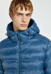 PULL&BEAR - Winter jacket - dark blue - 4