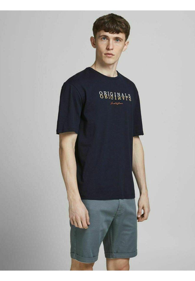 Jack & Jones - Print T-shirt - navy blazer