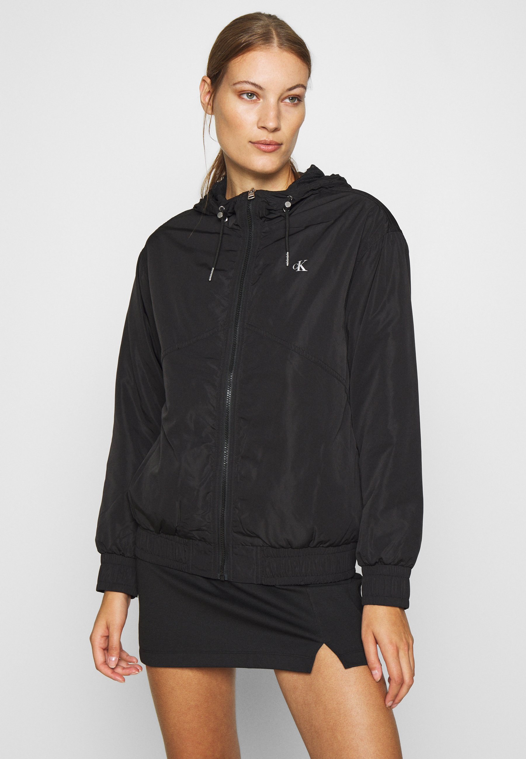 2020 New Visit New Women's Clothing Calvin Klein Jeans Light jacket black yhSmJMOgf Ul0yixeSy