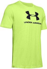 Under Armour - Print T-shirt - lime fizz - 3