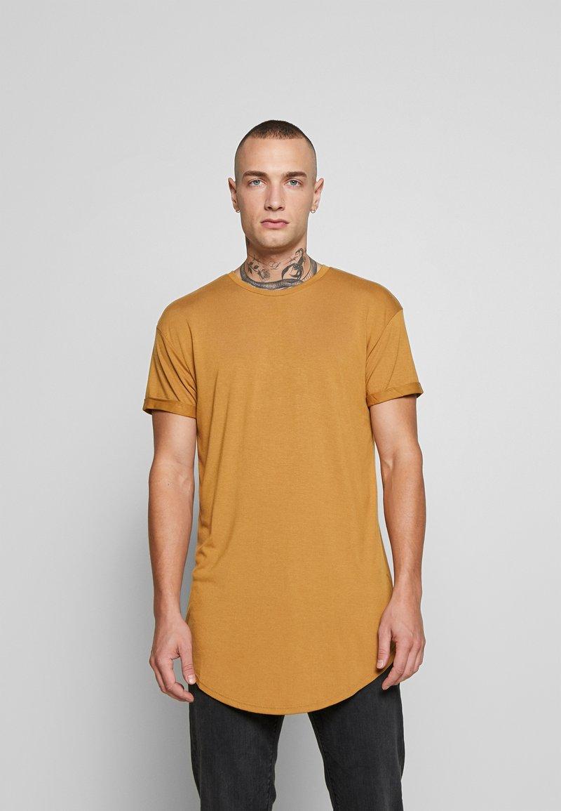 Topman - SCOTTY APPLE BRN/HORIZON BLUE - T-shirt - bas - multi