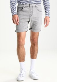 YOURTURN - Denim shorts - grey - 0