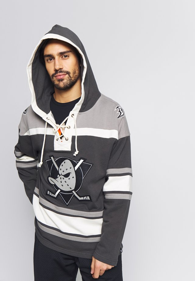 NHL ANAHEIM DUCKS LACER HOOD - Hoodie - black