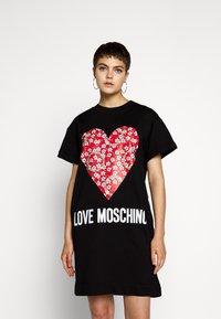 Love Moschino - Robe d'été - black - 0