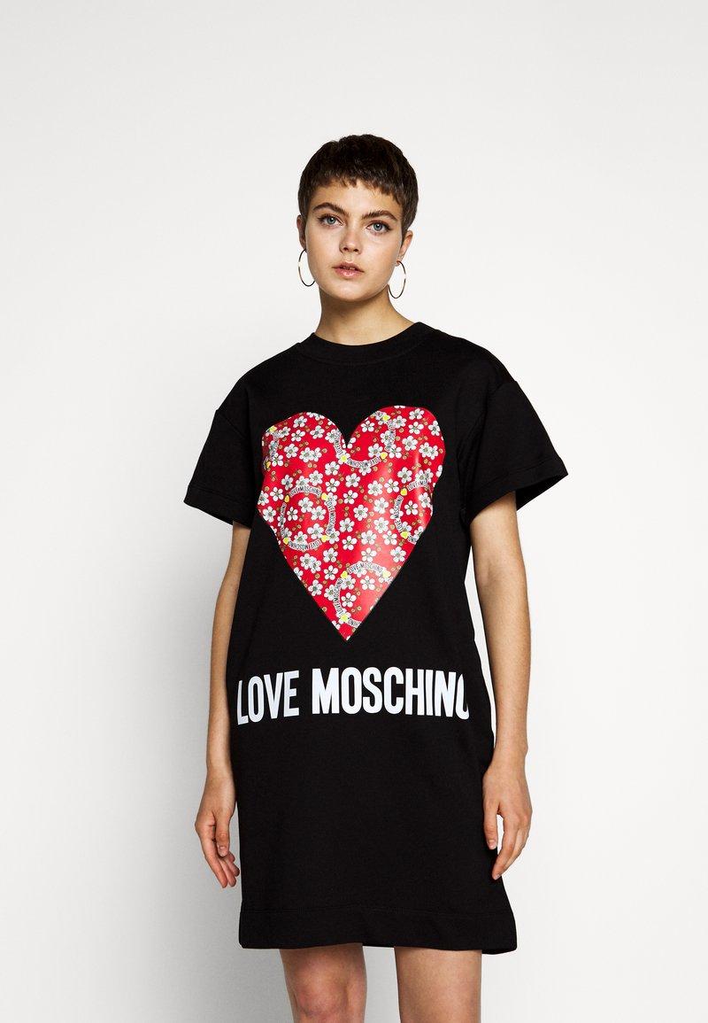 Love Moschino - Robe d'été - black