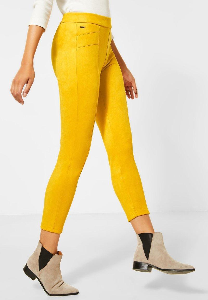 Street One - Leggings - Trousers - gelb