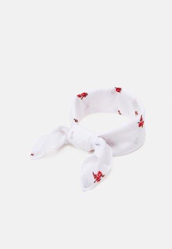 FEMININE BANDANA - Foulard - regular white