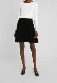 HUGO - SOLAINA - A-line skirt - black - 0