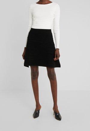 SOLAINA - A-line skirt - black