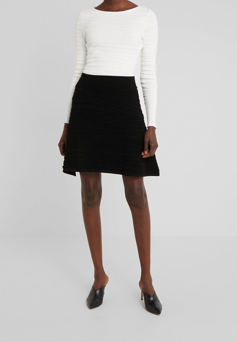 HUGO - SOLAINA - A-line skirt - black