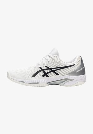 SOLUTION SPEED FF CLAY - Clay court tennis shoes - white/black