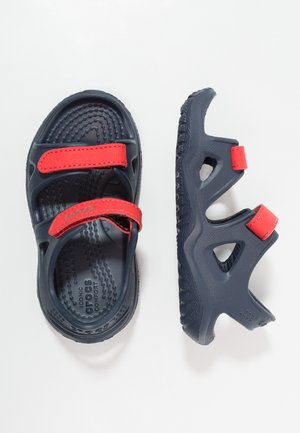 SWIFTWATER RIVER RELAXED FIT - Pool slides - navy/flame