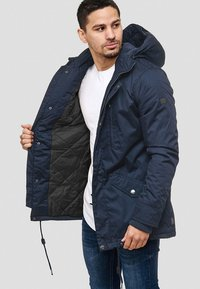 INDICODE JEANS - Winter jacket - dark blue - 4
