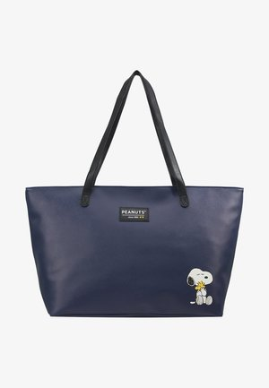 SNOOPY FOREVER FAMOUS SHOPPER - Shoppingveske - dark blue